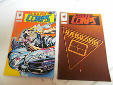 LOT 2 * VALIANT COMICS *THE H.A.R.D.  CORPS *1993 # 13.  &  1994 # 14.   F/F