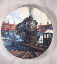 Portrait in Steam 1990 The Golden Age of American Railroads Collector Plate