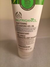 The BODY Shop NUTRIGANICS Softening Cleansing GEL OIL FULL SIZE New 3.3 oz Aging