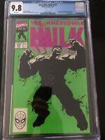 Incredible Hulk #377A 1st Printing CGC 9.8 1991 Classic Green Cover Of Hulk