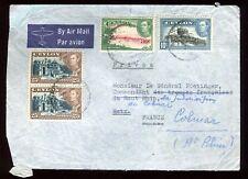 Ceylan - Enveloppe de Colombo pour la France en 1947 - réf O62