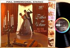 CAPITOL FDS STEREO Ruth Welcome ZITHER IN 3/4 TIME ST-1318