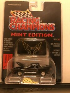1/64 RACING CHAMPIONS MINT 1996 PONTIAC FIREBIRD TRANS AM BLACK #3