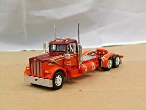 Dcp orange/red Peterbilt 379 daycab tractor 1/64