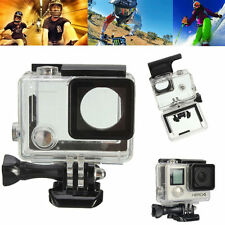GoPro Hero 3+/Hero 4 Waterproof Housing Underwater Diving Case Transparent Stand