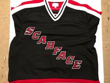 NWT Supreme SCARFACE Hockey Jersey Black Red White Large FW17 In Hand