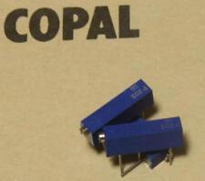 10 unidades, ct-20p spindeltrimmer 20k Ohm 10% 0,5w 15 aventurado 100ppm (m3952)