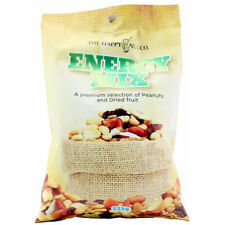 THE HAPPY NUT CO. ENERGY TRAIL MIX MIXED NUTS DRIED FRUIT PEANUT SNACKS 225g