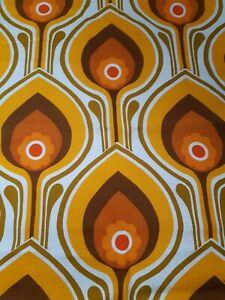 1960/70s Vintage Furnishing Fabric