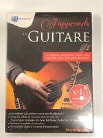 j'apprend la guitare cd-rom pc neuf sous blister