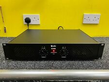 More details for qtx q1000 stereo amplifier 1000w powerful dj amp 2 x 500w party pa speakers used