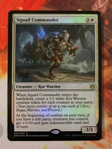 MTG Card: Squad Commander FOIL