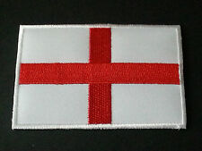 NATIONAL WORLD COUNTRY EMBROIDERED FLAG SEW/IRON ON PATCH:- ENGLAND (a)
