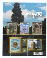 TIMBRE STAMP ZEGEL BELGIQUE BL 151  LE MUSEE MAGRITTE  XX