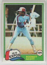 1981 Topps Baseball Montreal Expos Team Set