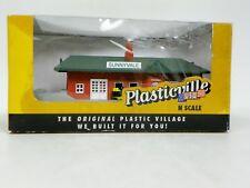 """MODEL POWER N SCALE BUILT-UP """"SUNNYVALE PASSENGER STATION"""" PLASTIC KIT #45908"""