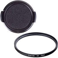77mm UV filter +Cap For Sony Nikon Canon Pentax EF 24-70mm 24-105mm DSLR Cameras