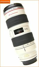 Canon EF 70-200mm F2.8L IS USM Manual Focus Only Zoom Lens  Free UK PP
