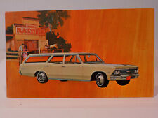 New Old Stock 1966 Chevrolet Chevelle Wagon Dealers Promo Post Card Unused