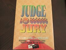 1995 Judge 'n' Jury Game FACTORY SEALED