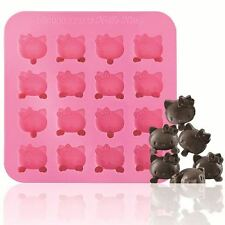 SiliconeZone Hello Kitty Silicone 16 Cup Chocolate Mold