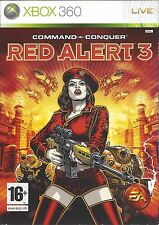 COMMAND & CONQUER RED ALERT 3 for Xbox 360 - with box & manual