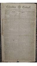 Historical 1798 April 4 Boston Columbian Centinel Newspaper Not a Reprint