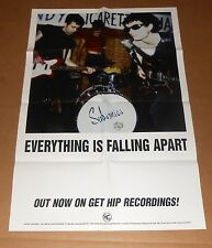 Subsonics Everything is Falling Apart Poster Original 1996 Promo 33x22 RARE