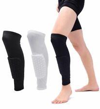 1pc Honeycomb Football Shields Soccer Shin Guard Legging Pads Leg Sleeves Adult