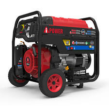 A Ipower 6000 W Portable Hybrid Dual Fuel Powered Generator With Electric Start