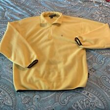 Nautica Yellow Fleece Pullover Men's XXL