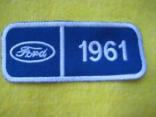 """Ford 1961 Thunderbird  Truck Service Dealer Uniform Hat Patch 4 """"X 1 5/8"""""""