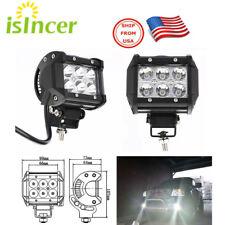 Set de 2 Piezas 4 Pulgadas 18W CREE LED Luces para Niebla ATV SUV