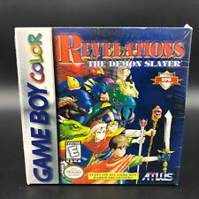 Revelations: The Demon Slayer (Nintendo Game Boy Color) *NEW - FACTORY SEALED*