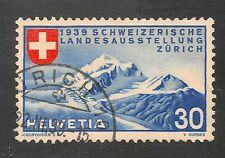 Switzerland #252 VF USED  1939 30c Alpine Scenery (German)