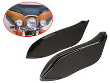 Side wings Windshield Air Deflectors For Harley Street Glide Touring FLHR FLHT