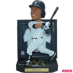 Derek Jeter New York Yankees Framed Jersey Bobblehead MLB