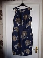 STUNNING Ladies Hobbs Poppy Dress Size 10 083216