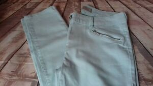 next ankle slim green jeans size 12 leg 29 across the waist 15.5 inches