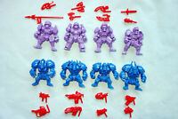 Nazi Cyborgs, Necros & Pancerons, 8 Plastic Battle Beasts, Action Figures Russia