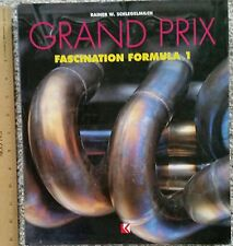 GRAND PRIX  Fascination Formula 1 by Rainer W. Schlegelmilch, 400 Page Hardcover