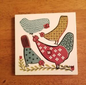 VINTAGE Robert Darr Wert Ceramic Tile