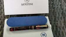 . MOLTENI PEN MODELO 88 CAPRI BLUE LIMITED EDITION FOUNTAIN PEN