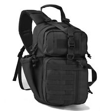 Tactical Sling Bag Military Backpack Pack Rover Shoulder Sling Molle Middle Size