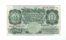England - One (1) Pound, 1949-55
