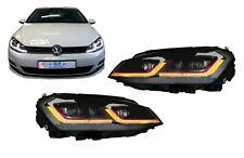 LED Headlights for VW Golf 7 VII 12-17 Facelift G7.5 GTI Look Dynamic Lights