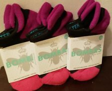 BOMBAS BEE BETTER SOCKS SIZE XS NEW WITH TAGS MULTI COLOR LOT OF 3