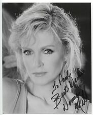 Donna Mills Signed 8x10 Inch Photo Autographed Vintage Signature