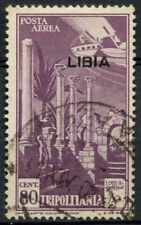 Libya Italian Colony 1941 SG#75, 80c Purple Used #A92559