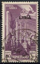 La LIBIA COLONIA ITALIANA 1941 SG # 75, 80C Viola USATO #A 92559